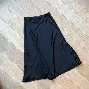 BCBG Midi Satin Skirt